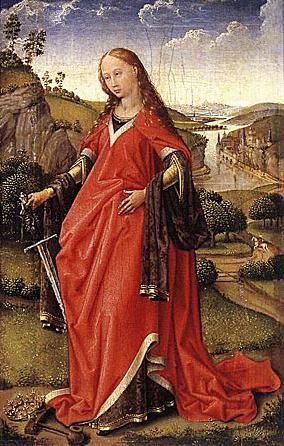 Saint Catherine by Roger van der Weyden